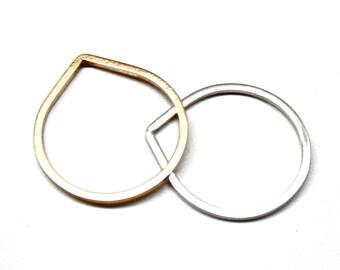Teardrop Stacking Ring