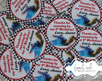 Turbo Snail Personalized Thank You Stickers