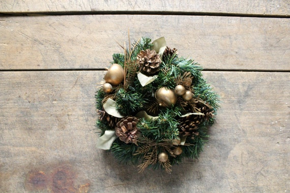 Vintage Christmas Candle Ring