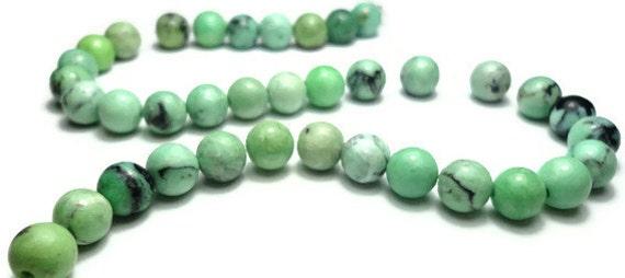 light green chrysotine 6mm round - raffle 1 ticket