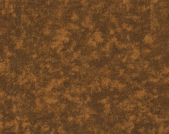 Brown Fabric, Quilter's Blenders Brown Fabric, 1 yard fabric, 01570
