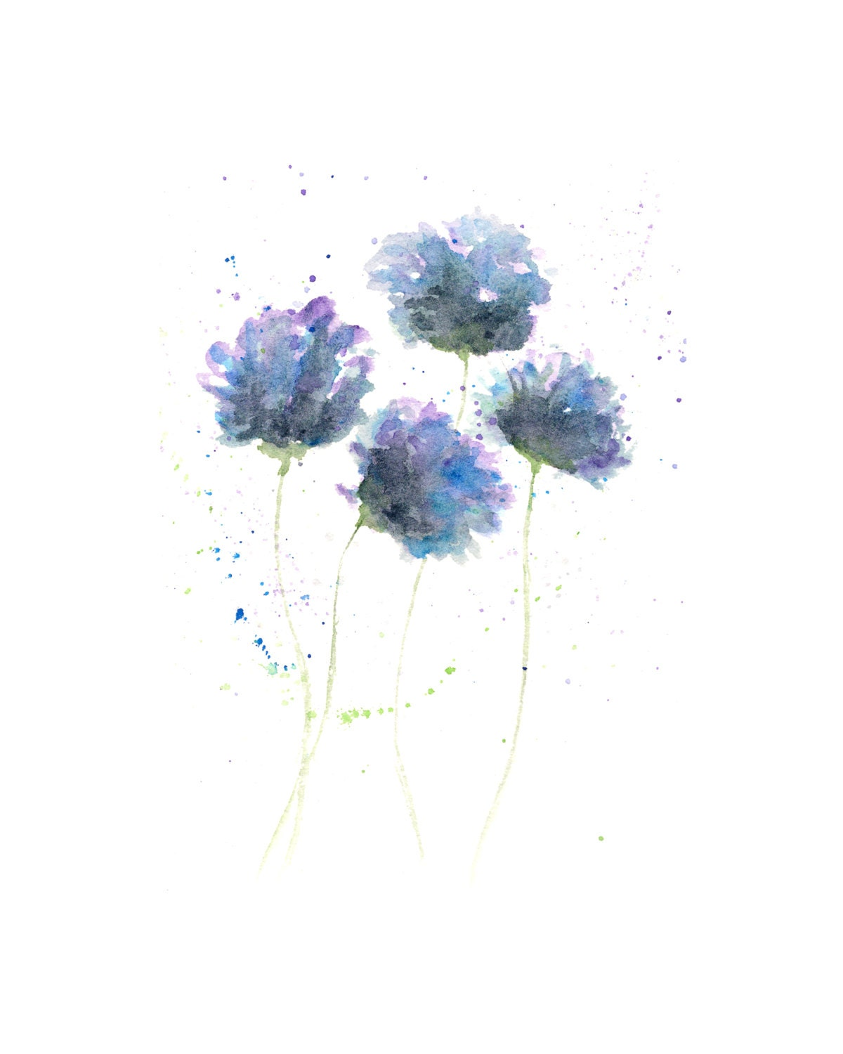 Watercolor Flower Painting: Watercolor Painting Watercolor Flowers Flower Art