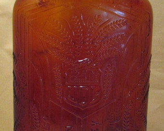C. 1940's Amber Rye Whiskey Bottle- United Distillery Ltd. Canada