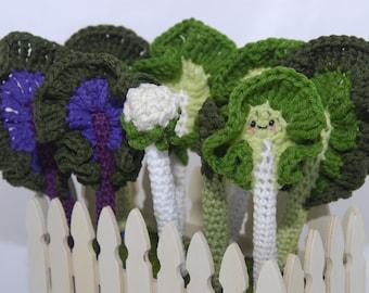 Veggie Pen Cozy- Pen Cozy- Pen Cover- Crochet Pen Cozy- Veggie Pen Cozy- Food Pen Cozy