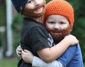 Customizable Toddler Beard Beanie