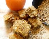 1 lb.Organic Orange Horse Treats Nickerdoodles Hide a Pill Oats Nutritious