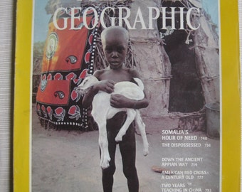 National Geographic June 1981:  Somalia, San Francisco Bay,