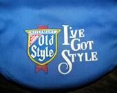 Vintage Blue Heileman's Old Style Beer Newsboy Cap - I've Got Style