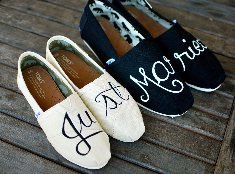 Single Heart Bride Custom Shoes 63
