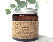 PATCHOULI and FRANKINCENSE Raw Body and Soul Balm 120ML Organic, Vegan and Ethical