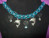 Dolphin Dreamer chainmaille necklace