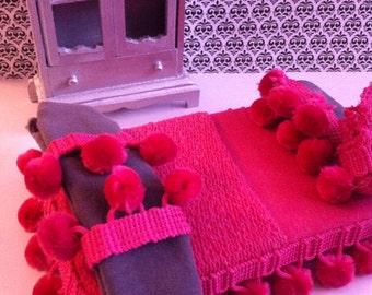 SALE Modern Miniature chic Bed