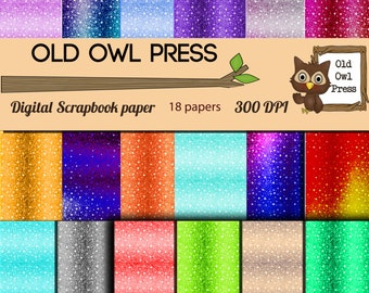 Glitter paper,  Digital scrapbook, paper pack, 12 by 12 300 DPI,  Scrapbook Paper, Scrapbooking paper, commercial use, instant download