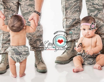 Military diaper cover, Army, Marine, Air fore, Acu diaper cover, multi cam, Navy bloomers