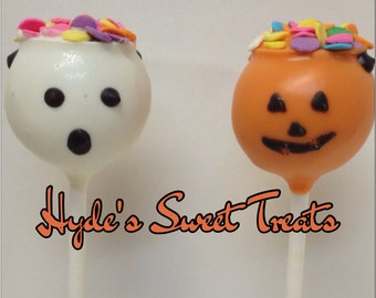 Candy bucket cake pops
