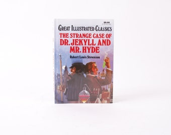 Kindle Cover or Nook Cover- Ereader Case made from a Book- Dr. Jeckyl and Hyde