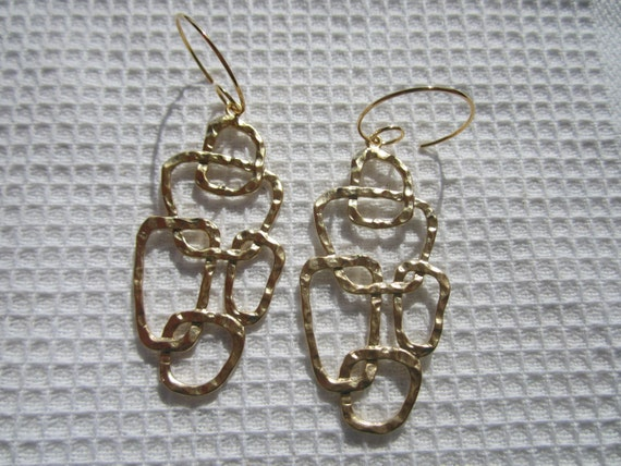 ... Earrings/Gothic/ Romantic/ Victorian/ Wedding/ Gift under 50 Dollars