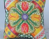 Time for Tulips Mini Cushion Cross Stitch Kit