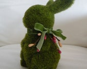 Moss Bunny with Berries