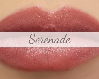 "Vegan Lipstick Sample - ""Serenade"" (rosy mauve pink lipstick) lip tint, balm, lip colour"