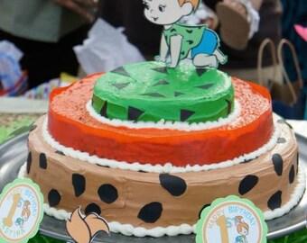 Pebbles Flintstone Cake Toppers