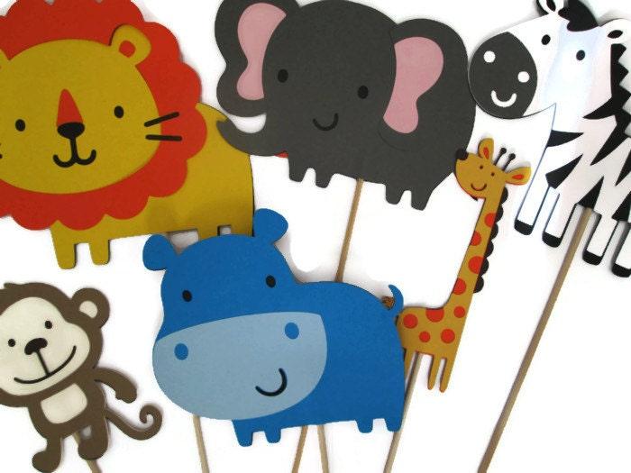 safari zoo centerpieces safari themed zoo by moosescreations