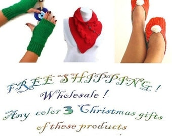FREE SHIPPING Promotion Winter protection.Wholesale any color 3 Valentine's Day gifts of my shop only 80 USD.
