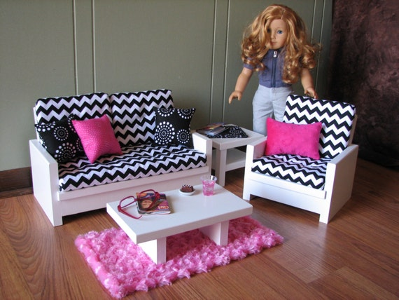 american girl living room set 18 doll furniture american sized living room 19582