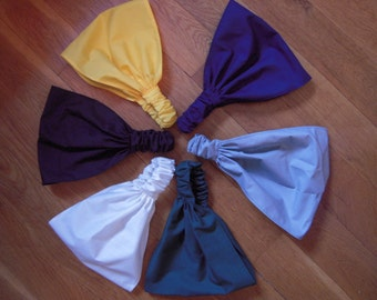 Solid Color Wide Headbands by FreCkLes GarDeN  - you pick the color