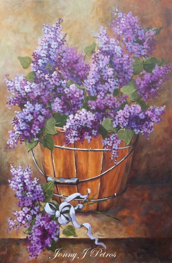 French Country Lilacs Cottage Decor Provence Wall By RoyalRococo