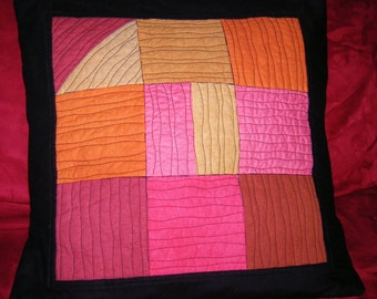 Modern Geometry Hot Pillow Cover