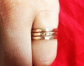THICK Stack Goldfill Ring
