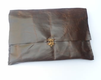 Handmade Leather Laptop Sleeve, Leather MacBook Pro Case, Computer Accessories