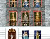Benjamin Franklin - Fine Art Print - Craven Street - Benjamin Franklin House - London - American Revolution - USA History - Georgian England