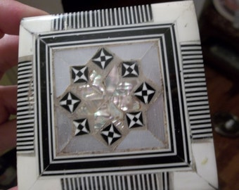 Middle Eastern Sea Shell Container/Box