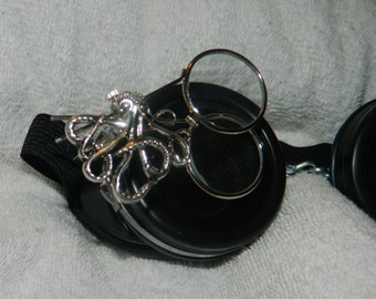 Gothic STEAMPUNK Kraken JEWELER'S Loupe Kit (Loop Kit) for Your Eye Cup Goggles