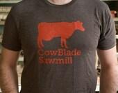 CowBlade Sawmill Tshirt