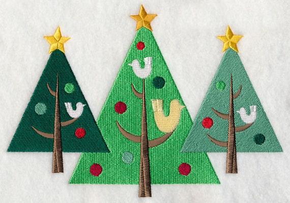 Holiday Christmas Trees Trio Sweatshirt