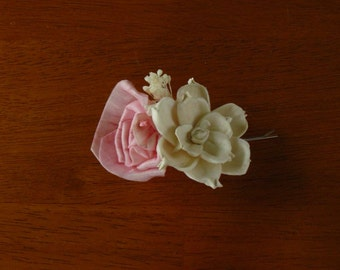 Hair Accessories, Bobby Pins, Flower Bobby Pin, Wedding Hair Accessories, pink Hair Pin