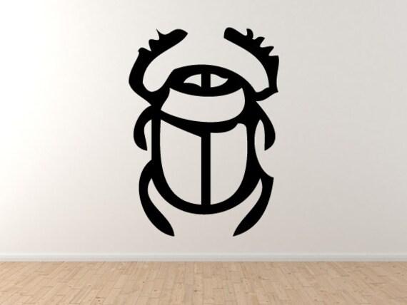 Egyptian Symbols 1 Scarab Beetle Hieroglyph Decorative Art Etsy