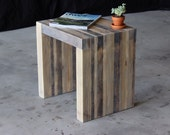 industrial modern side stool/table