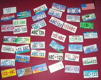 License Plate Magnets For Your Creative Designs