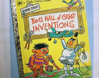Berts Hall of Great Inventions, 1972 Little Golden Book