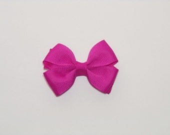 Wild Berry Baby Hair Bows, Baby Hair Bow, Girls Hair Bows, Small Hair Bow, Toddler Hair Bows, Hair Bows for Baby