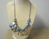 Bold Turquoise Southwestern Necklace RESERVE Kim