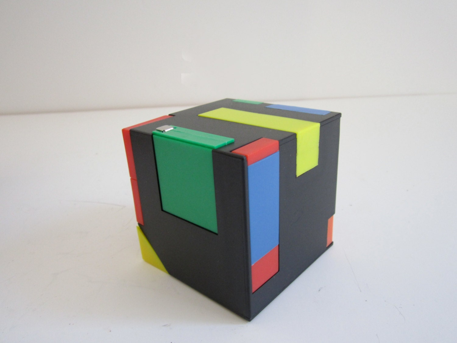 Neon Rubix Cube Clip Art Magic cube desk organizer