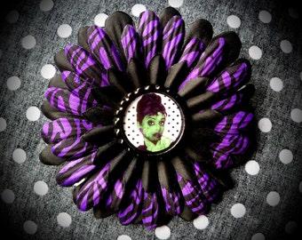 Zombie Hepburn hair flower