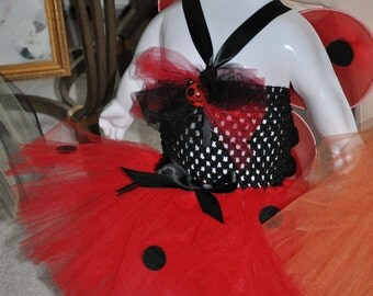 Little Miss Lady Bug Costume
