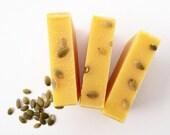 Pure Pumpkin All Natural Soap, Eczema Skin, Unscented Soap, Vegan Soap, Handmade Soap, Pumpkin Soap, Dry Skin