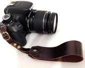 Awesome Leather camera wrist strap